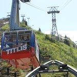 Middle Gondola at Mt. Titlis