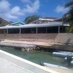 L'Aquarium at Bougainvilla Hotel Union Island