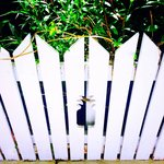 Beautify White Picket Fences with Pineapple Cut-Outs