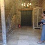 Eines der Eingänge zu den wunderschönen Zimmern
