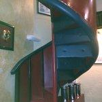 Испытание для настоящих мужчин. Лестница в туалет :)
