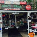 Front Door of Abe's Grill