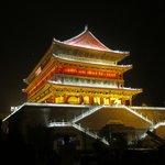 Drum Tower at Night