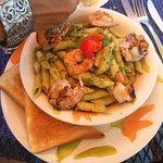 pasta & shrimp