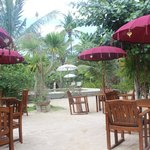 Outdoor dining if you prefer
