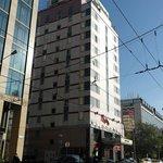 Hotel visto da via Lesnaya