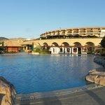 Pool, Cabanas And Main Hotel