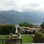 view of lake Como from room 607