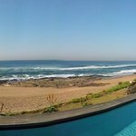 panorama from pool - nothing between you and the sea