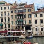 Hotel Ovidius from across the canal