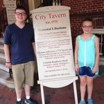 Lunch at City Tavern