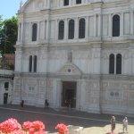 Chiesa San Zaccaria from the terrace of Villa Igea