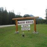 Baker Creek Sign