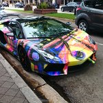 one special car spotted in Las Olas Blwd