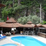 the bar poolside