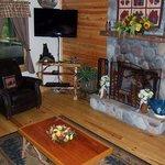 Living room @ Ruhe Haus