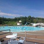 Camp Ripan Kiruna pool and water slide