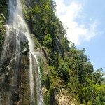 The waterfall in Pico Benito