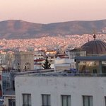 early morning Athens from our room