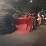 Inside the LKAB Kiruna Mine