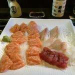 Sashimi, porzioni varie