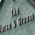 Horse & Groom by A1060 near Writtle ~ gable signage
