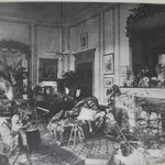 The Drawing Room before the landmine