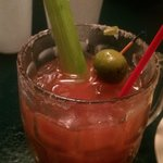 Literally the best Bloody Mary of my life. July 2014.