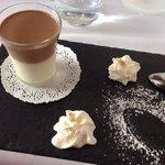 Pannacotta aux 2 chocolats