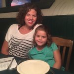 My daughter and I at Best Italian. July 2014.