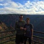Outfitters Kauai's Waimea Canyon Bicycle Downhill double shaka