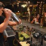 Full bar & happy hour 5-7PM