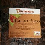 100% organic Cacao (chocolate)