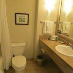 Bathroom, room 1704 (executive floor)
