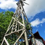 Great old wooden windmill
