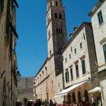 Iglesia San Francisco en Dubrovnik