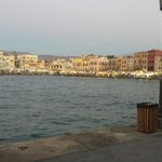 View of chania port