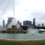 Buckingham Fountain Panorama