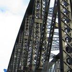 Upclose of the bridge