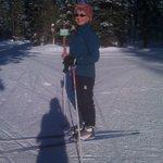 Julie Skiing at Otway Nordic Ski Facility