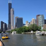 The SEARS Tower and the Chicago River