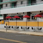 Front entrance to Jamaica Me Hungry Wildwood Crest from Jefferson Avenue