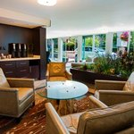 Enjoy complimentary coffee and tea while you relax in the lobby.