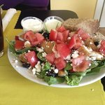 Fresh, delicious salads, home made dressings.