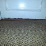 slanted floor