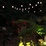Rainforest Inn outdoor sitting area