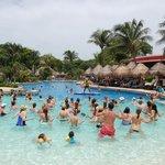 Aqua gym at main pool