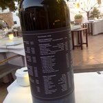 la carta dei vini...su vino