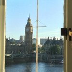 "View from the ""Big Ben View Room"" - lived up to the promise!"