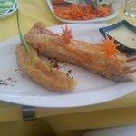 Local fish & banana